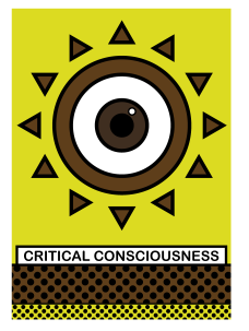 This illustration of critical consciousness touches on an important habit we all need to cultivate in this life, as we all need to be more aware of what influences we are letting into our lives, as well as what influences we are being in others' lives.
