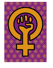 The colours used in this illustration on the topic of female empowerment were deliberately chosen to give a royal feel *insert sly smile here* I believe this topic is still relevant today – and every day going forward – until the female (and every other gender) is as valued as the male: as privileged as the man.