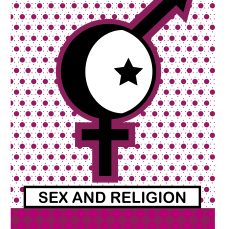censored depiction on the theme of sex and religion