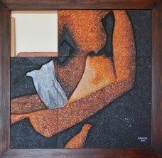Title: Love Scene 16. Size: 90x90 cm