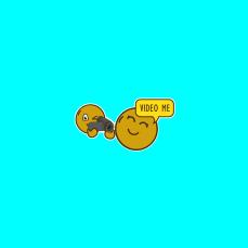 sticker post - video me